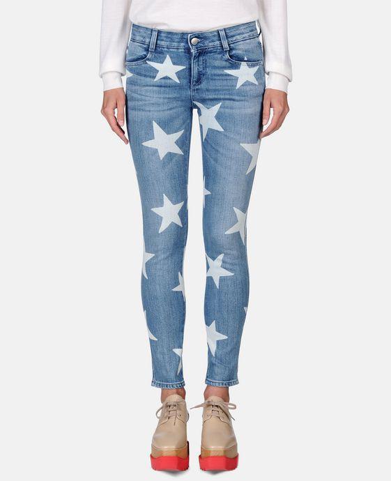 STELLA McCARTNEY Skinny Ankle Grazer Star Jeans Skinny Leg D h