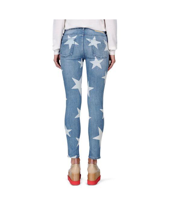 STELLA McCARTNEY Skinny Ankle Grazer Star Jeans Skinny Leg D i