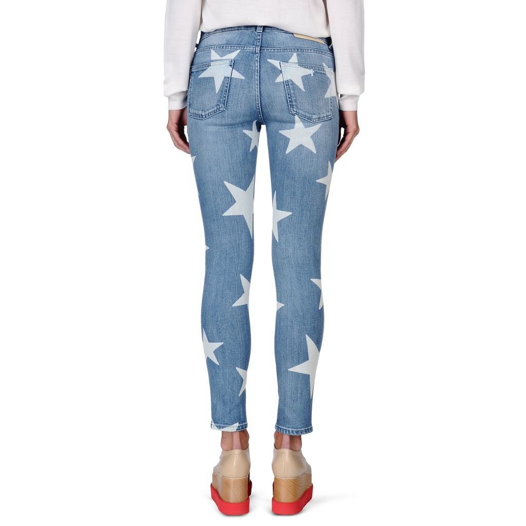 Skinny Ankle Grazer Star Jeans - STELLA MCCARTNEY