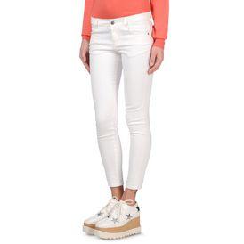 White Skinny Ankle Grazer