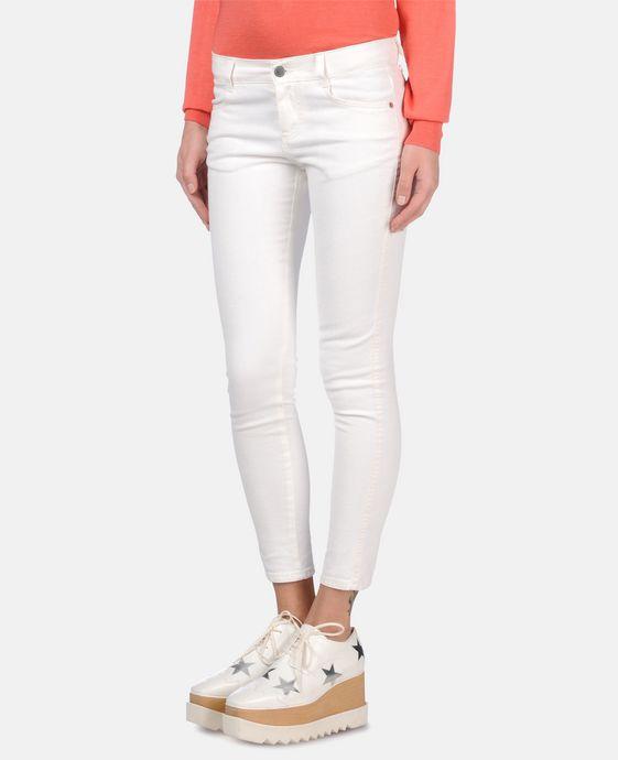 STELLA McCARTNEY White Skinny Ankle Grazer Skinny Leg D h