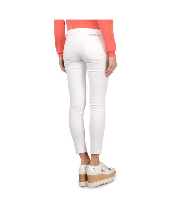 STELLA McCARTNEY White Skinny Ankle Grazer Skinny Leg D i