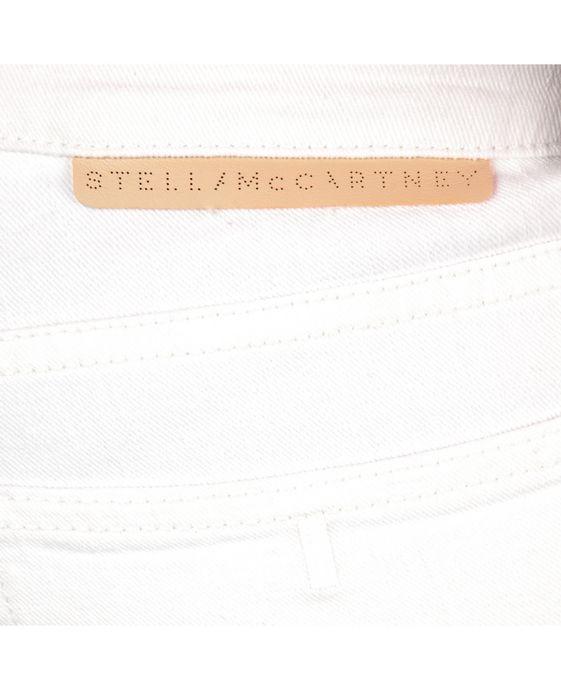 STELLA McCARTNEY White Skinny Ankle Grazer Skinny Leg D p