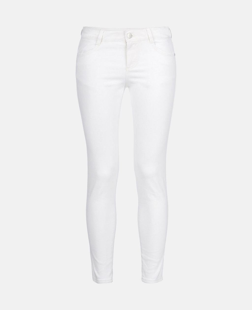 White Skinny Ankle Grazer - STELLA MCCARTNEY