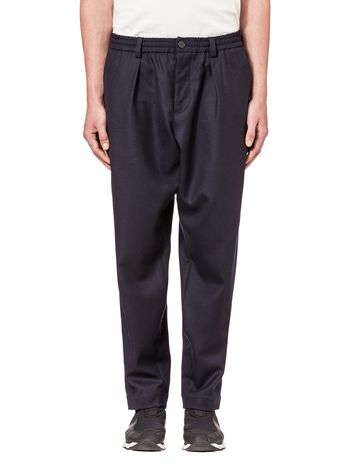 Marni Pants in darted flannel Man