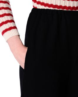 REDValentino Wool crepe trousers