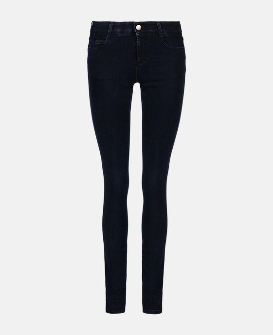 STELLA McCARTNEY Blue-Black Skinny Long Jeans Skinny Leg D c