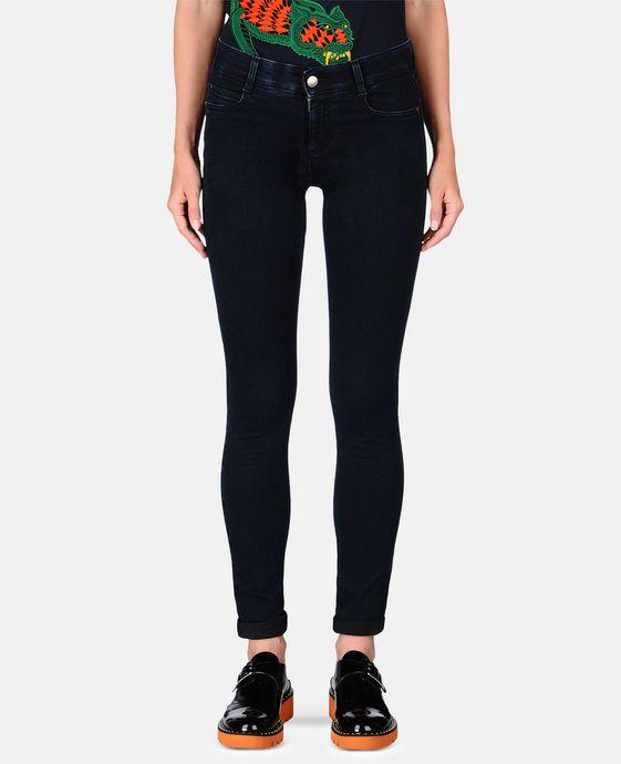 STELLA McCARTNEY Blue-Black Skinny Long Jeans Skinny Leg D h