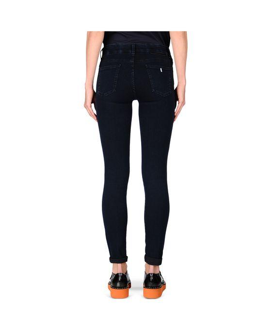 STELLA McCARTNEY Blue-Black Skinny Long Jeans Skinny Leg D i