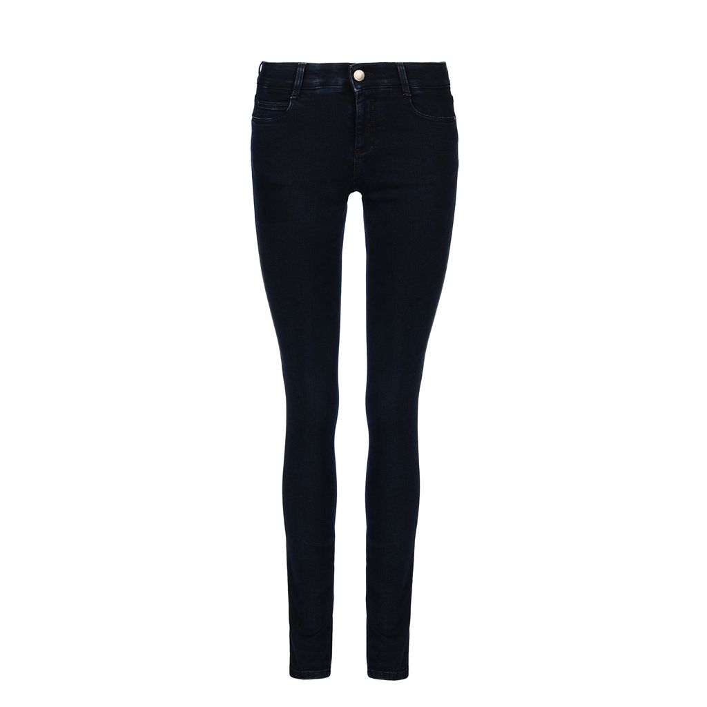 Blue-Black Skinny Long Jeans - STELLA MCCARTNEY