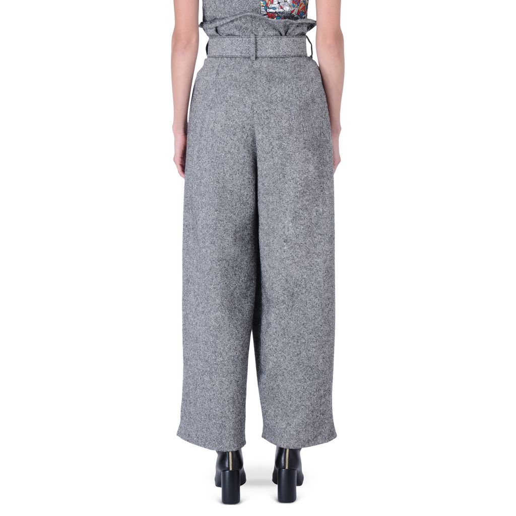 Tweed tailoring Maxine trousers - STELLA MCCARTNEY