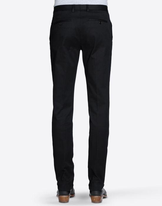 MAISON MARGIELA 14 Pantaloni in cotone con orlo al vivo Pantalone [*** pickupInStoreShippingNotGuaranteed_info ***] d