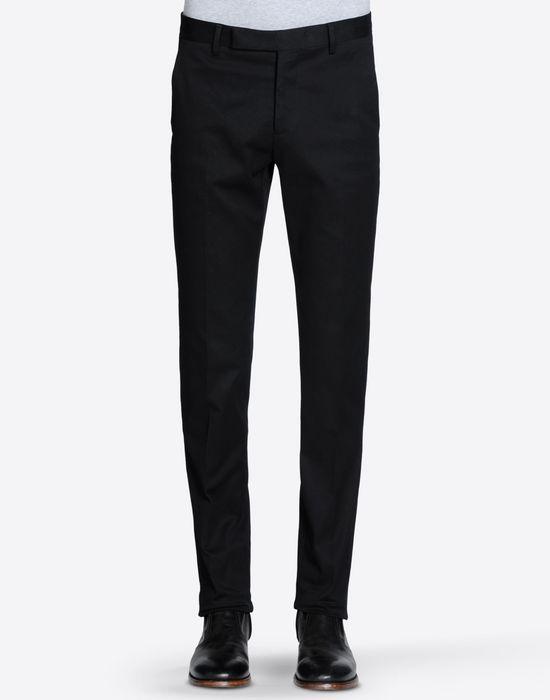 MAISON MARGIELA 14 Pantaloni in cotone con orlo al vivo Pantalone [*** pickupInStoreShippingNotGuaranteed_info ***] f