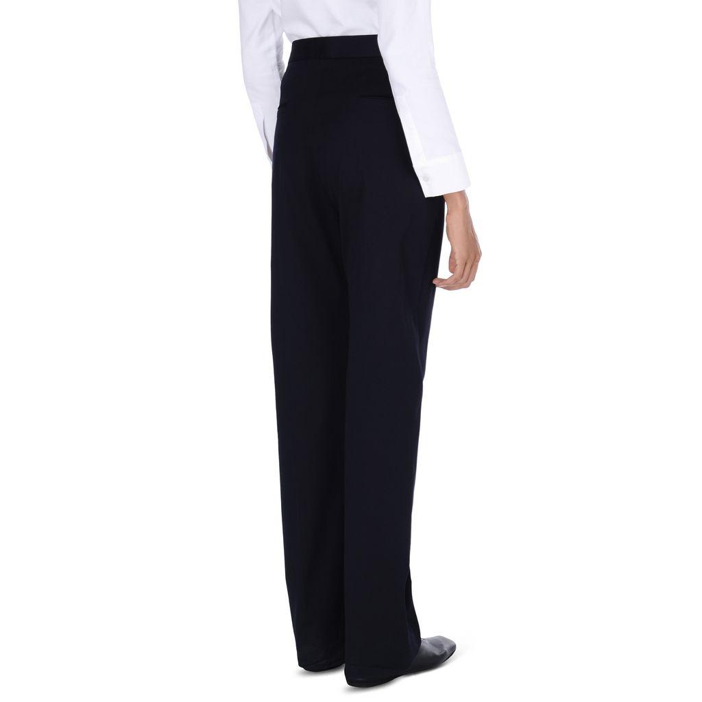 Navy Kassidy Pants - STELLA MCCARTNEY