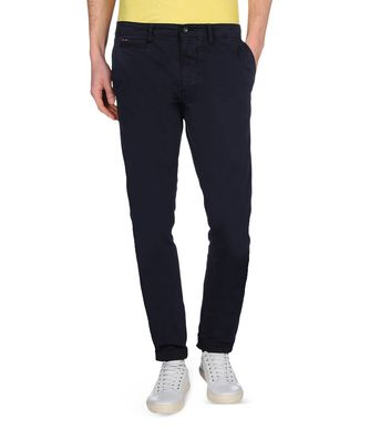 NAPAPIJRI MANA STRETCH SUMMER MAN CHINO TROUSERS,DARK BLUE