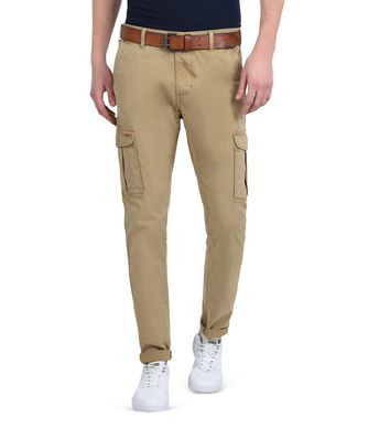NAPAPIJRI MOTO STRETCH MAN CARGO TROUSERS,OCHRE