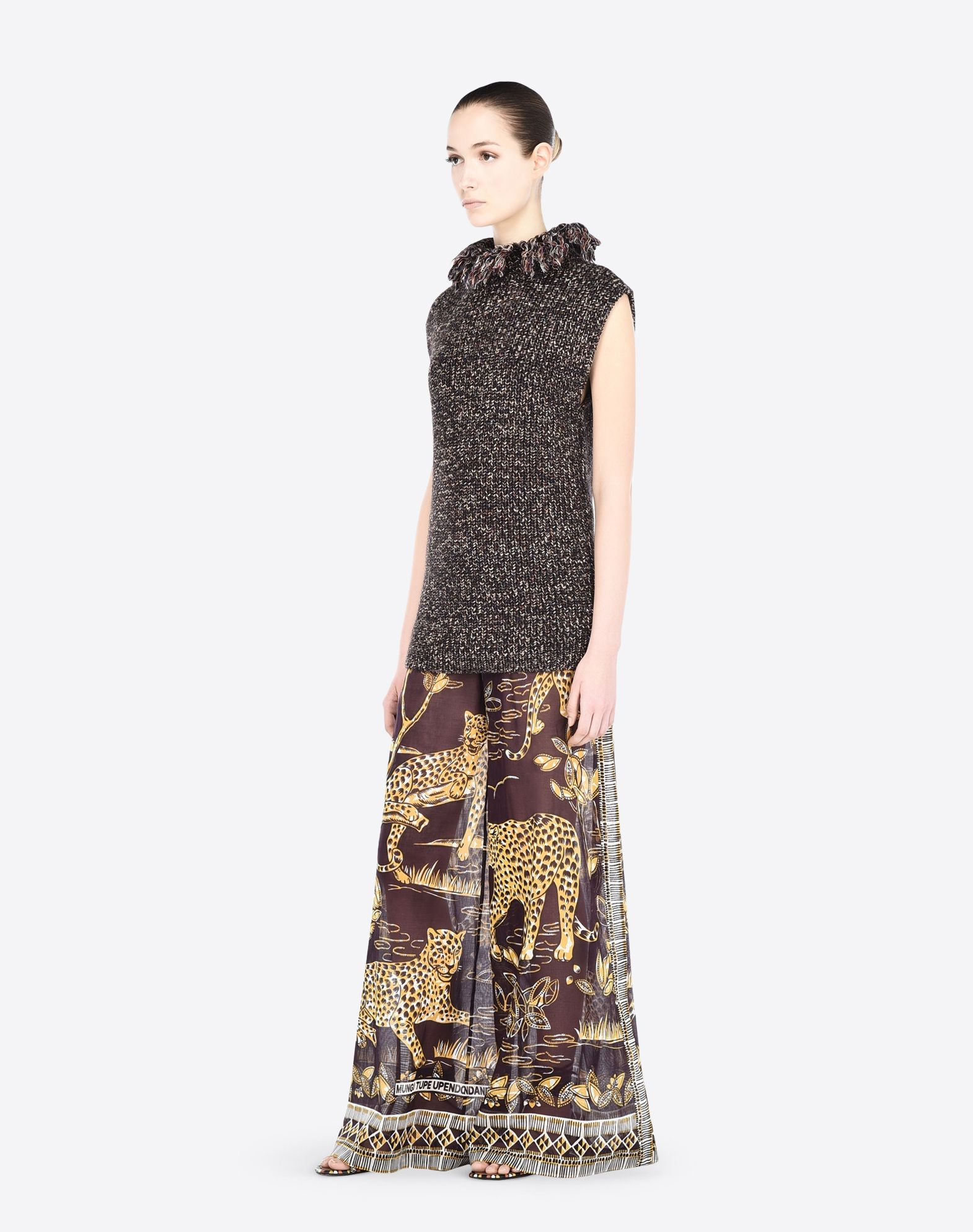 VALENTINO KB0RB0R12HV GG1 Skirts and Trousers D d