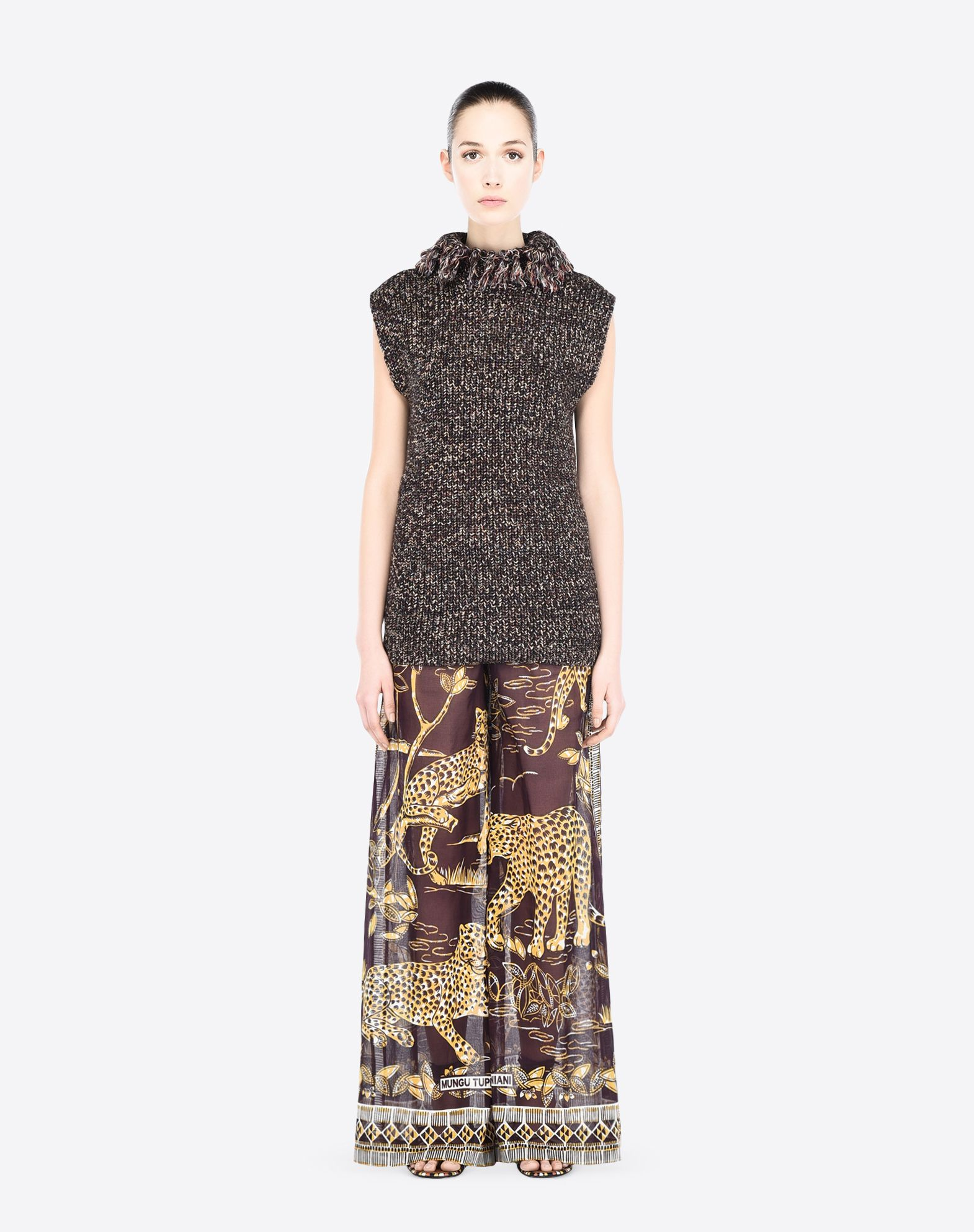 VALENTINO KB0RB0R12HV GG1 Skirts and Trousers D r
