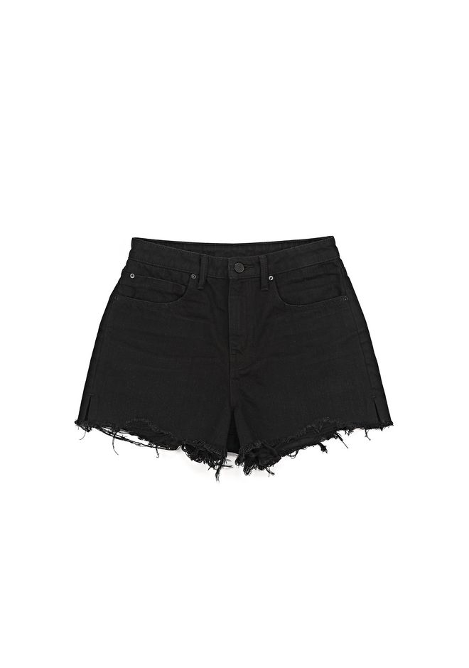 BITE CUT OFF DENIM SHORTS | DENIM | Alexander Wang Official Site