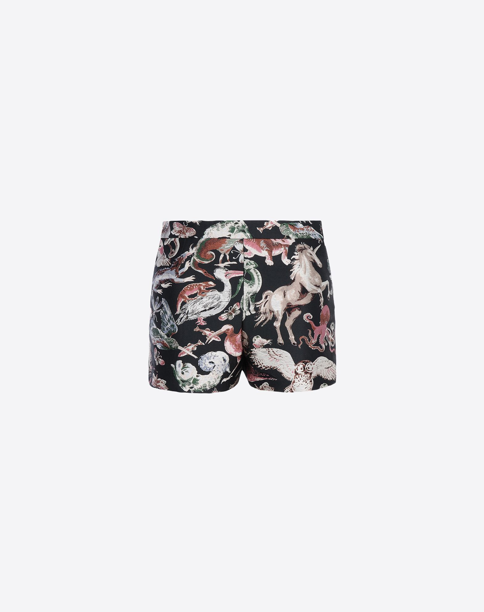 VALENTINO Brocade Multicolour Pattern Mid Rise Hook-and-bar, zip  36791340ij