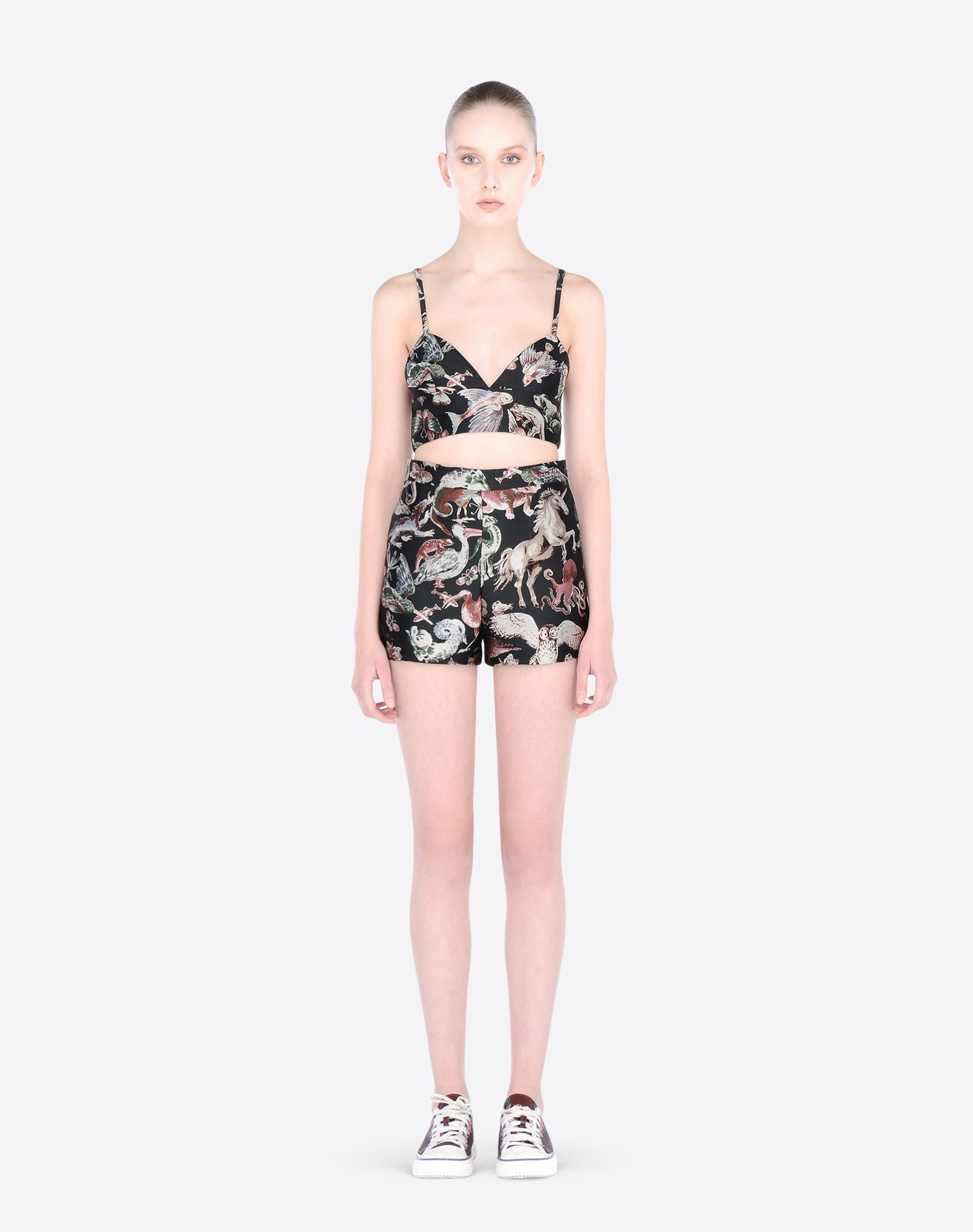 VALENTINO KB3RF0972BY EB0 Skirts and Trousers D r