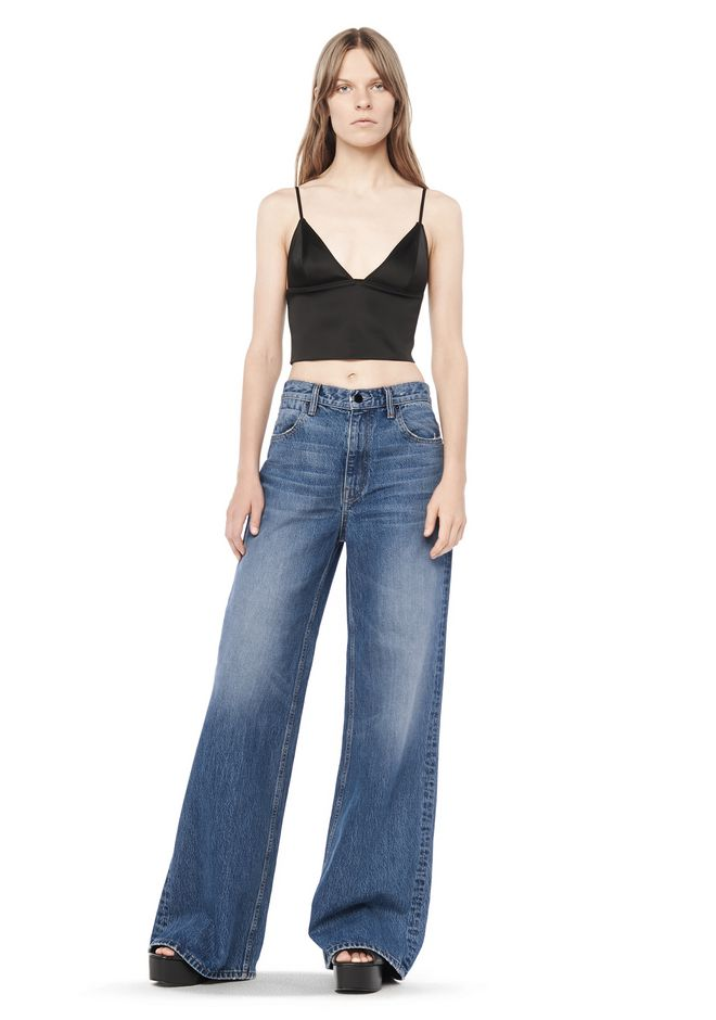RAVE WIDE LEG JEAN | DENIM | Alexander Wang Official Site