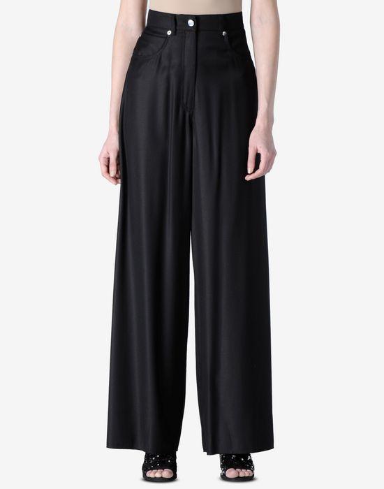 Mm6 Maison Margiela high-waist wide leg trousers Buy Cheap Very Cheap 4EQJOce8