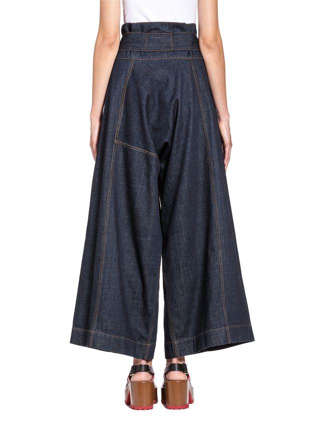 Marni Wide-leg pants in medium-weight denim Woman