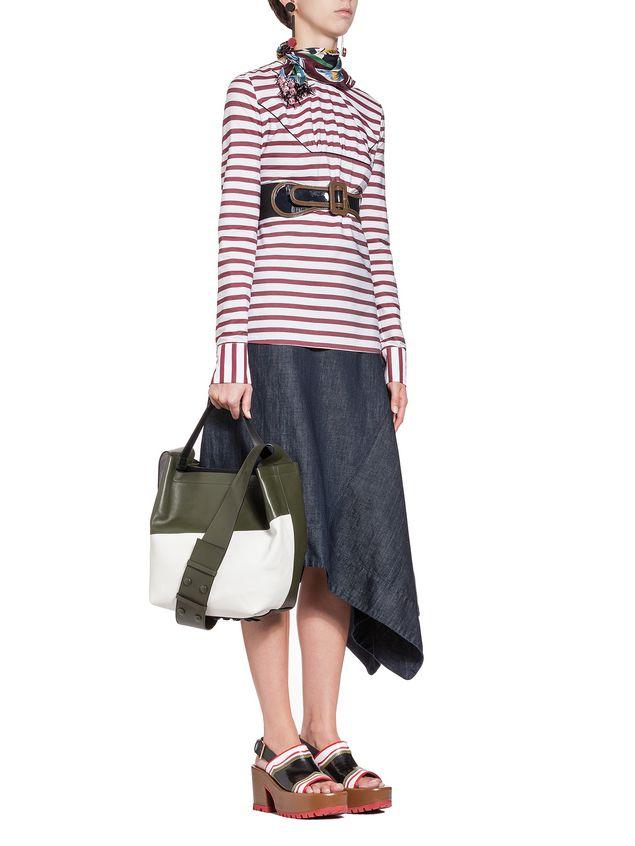 Marni Wide-leg pants in medium-weight denim Woman - 4