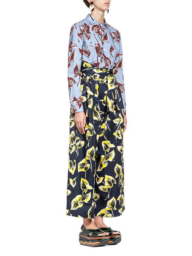 Marni Pants in cotton-and-linen gabardine Woman - 4
