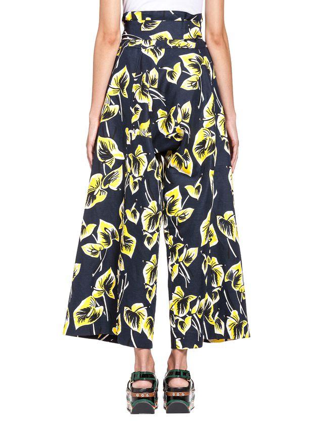 Marni Pants in cotton-and-linen gabardine Woman - 3