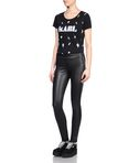 KARL SKINNY LEATHER LEGGING