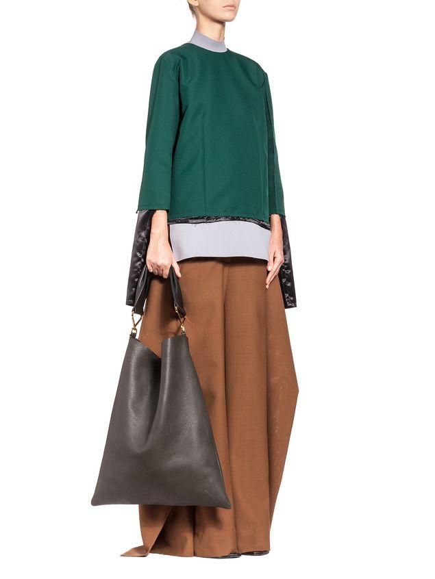 Marni Runway trousers in 2-thread tropical wool  Woman - 4