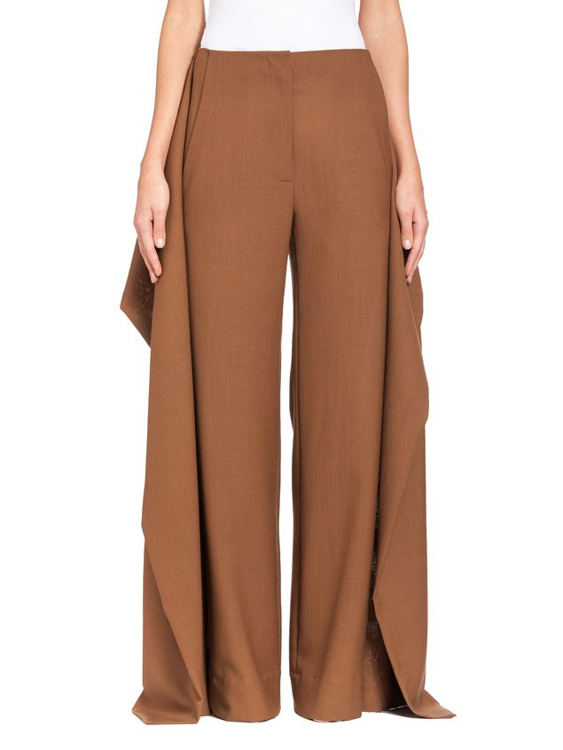 Marni Runway trousers in 2-thread tropical wool  Woman - 1