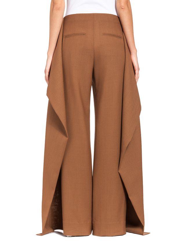 Marni Runway trousers in 2-thread tropical wool  Woman - 3