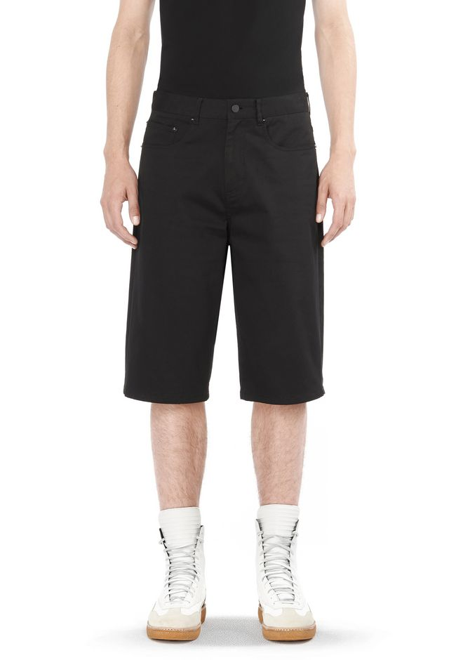 ALEXANDER WANG ready-to-wear-sale FIVE POCKET SKATE SHORTS
