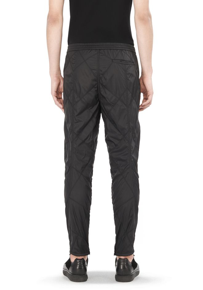 Alexander Wang DIAMOND QUILTED TROUSERS PANTS |Official Site : quilted trousers - Adamdwight.com