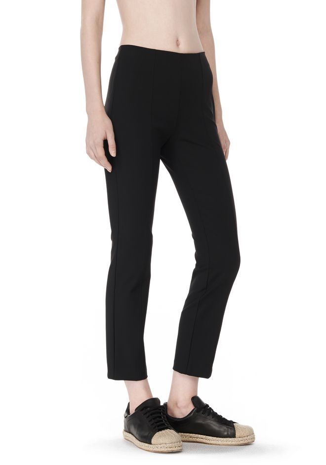 T by ALEXANDER WANG t-by-alexander-wang-sale TECH SUITING FITTED PANTS