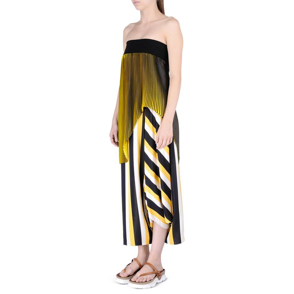 Striped Darmouth Pants   - STELLA MCCARTNEY