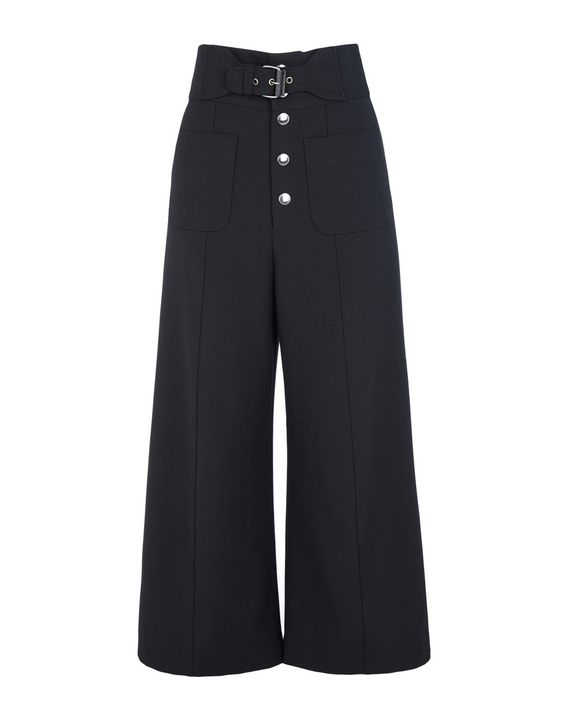 093d34007e02 REDValentino 70s Belted Cady Tech Trousers - Pants for Women ...