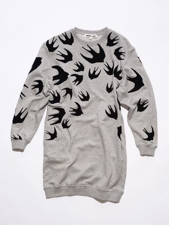 Sweatshirt-Kleid Swallow