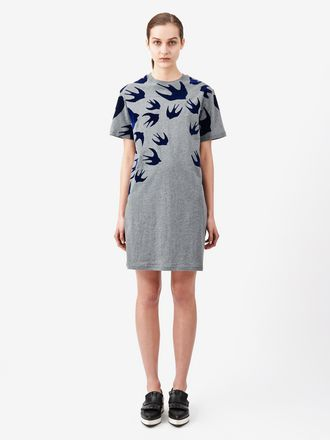 T-Shirt-Kleid Swallow