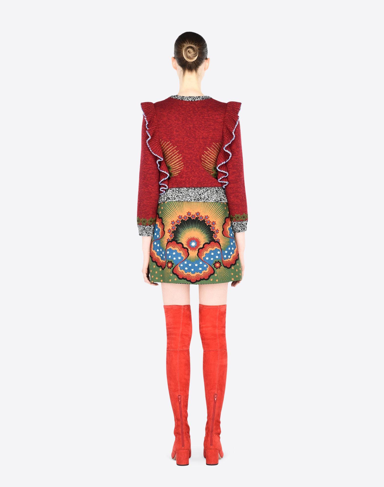 VALENTINO LB3RA1T52P5 V75 Skirt D a