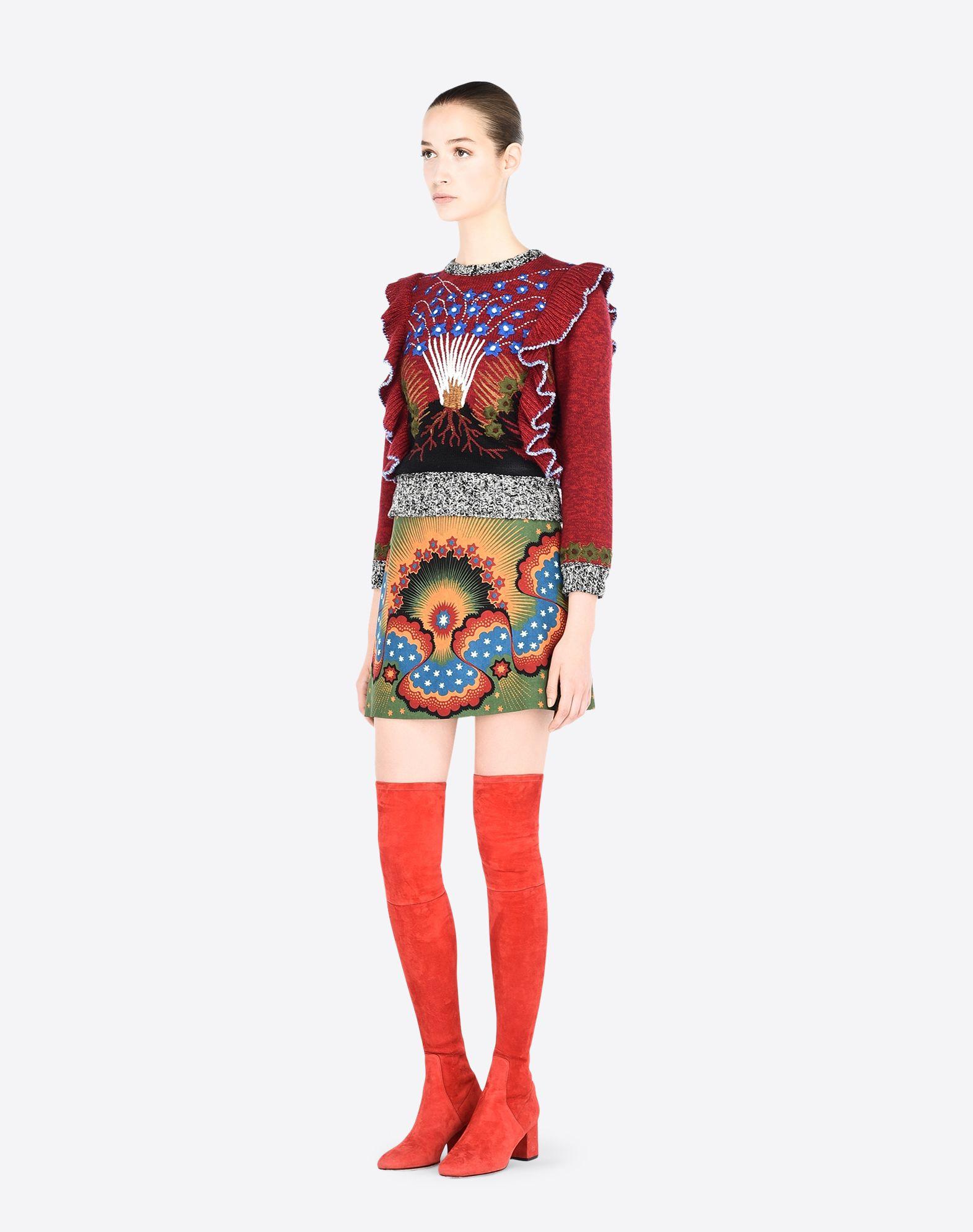 VALENTINO LB3RA1T52P5 V75 Skirt D d