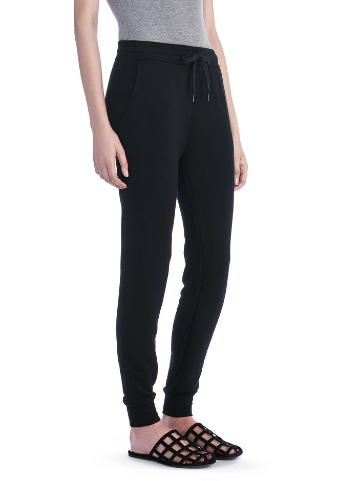 T by ALEXANDER WANG PANTS Women SOFT FRENCH TERRY SWEATPANT
