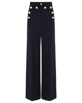 REDValentino Button detail wool pants