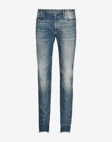 MAISON MARGIELA Jeans U Distressed vintage wash jeans f