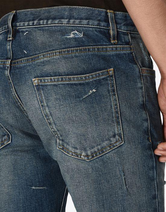 MAISON MARGIELA Distressed vintage wash jeans Jeans U a