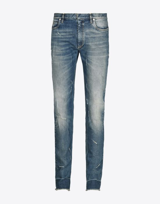 MAISON MARGIELA Distressed vintage wash jeans Jeans U f
