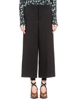Marni Pantaloni in flanella leggera ritorta Donna